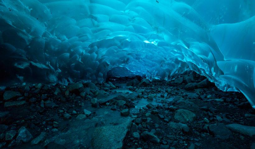 La grotte de Mendenhall - Alaska