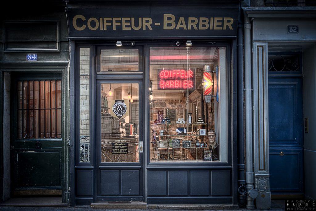 Enseigne barbier - Les mauvais garçons