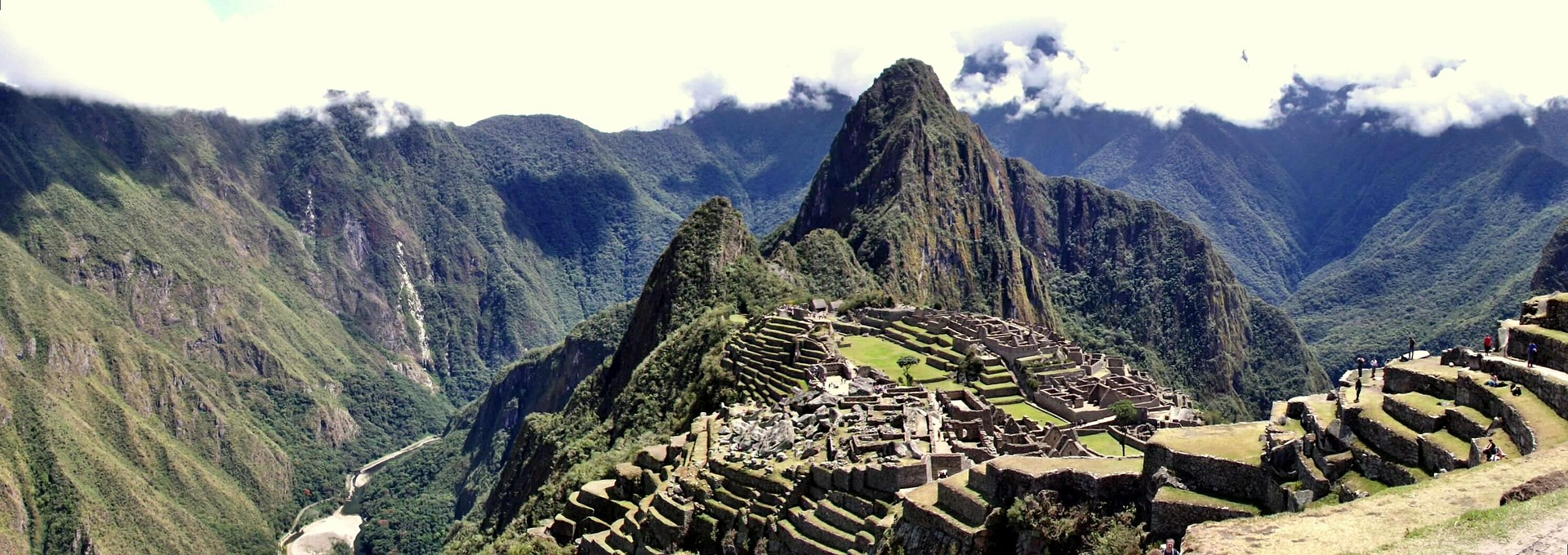 Le village du Machu Pichu