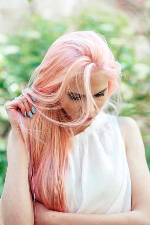 teinte-rose-délavé